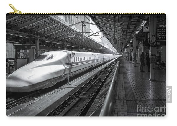Tokyo To Kyoto, Bullet Train, Japan Carry-all Pouch