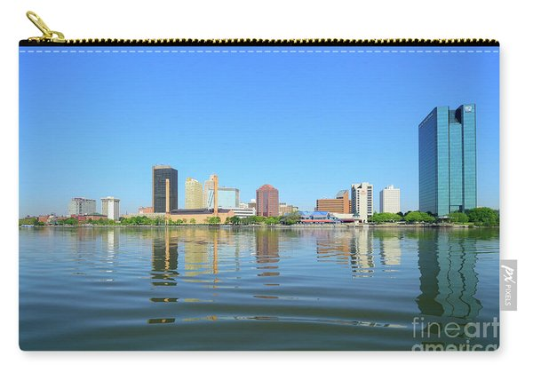 D12u-673 Toledo Ohio Skyline Photo Carry-all Pouch