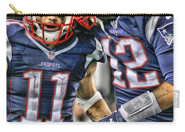 Tom Brady Art 1 Carry-all Pouch