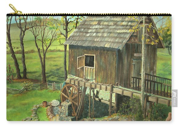 Tom Lott's Mill In Georgia Carry-all Pouch