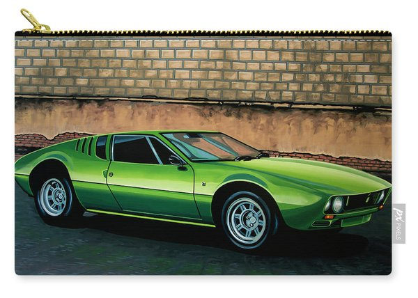 Tomaso Mangusta 1967 Painting Carry-all Pouch