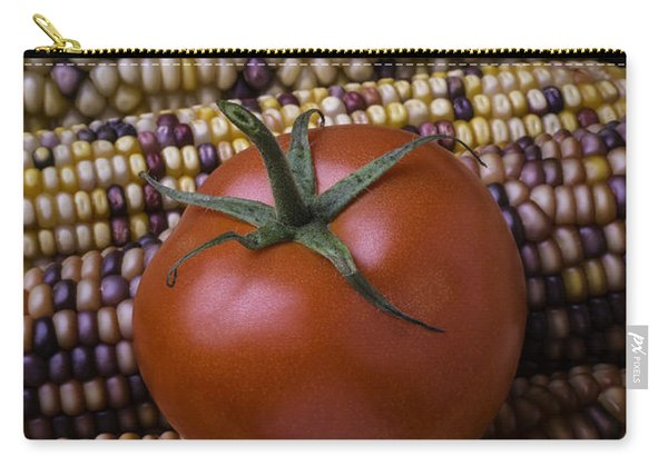 Tomato On Indian Corn Carry-all Pouch