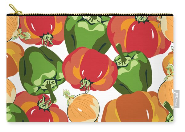 Tomato Sauce Ingredients Carry-all Pouch
