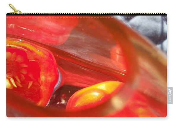 Tomatoe Red Carry-all Pouch