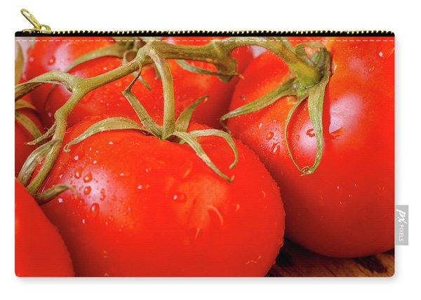 Tomatoes On The Vine Carry-all Pouch