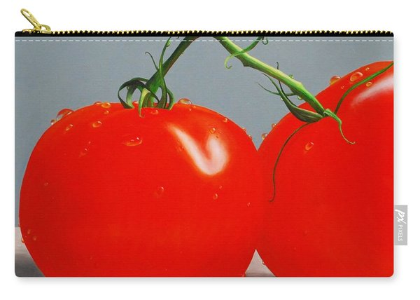 Tomatoes With Stems Carry-all Pouch
