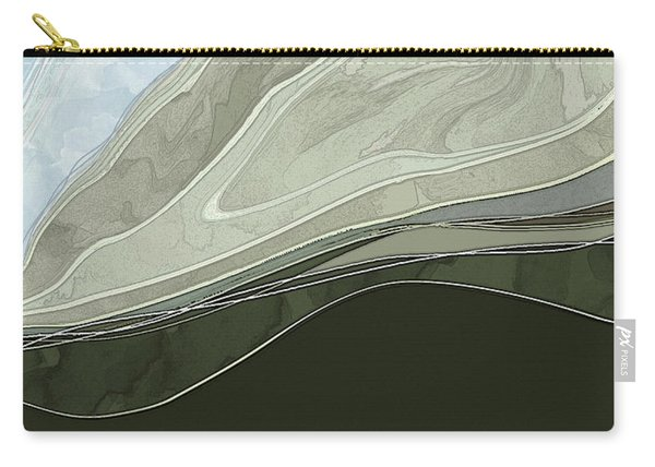 Carry-all Pouch featuring the digital art Tone Poem by Gina Harrison