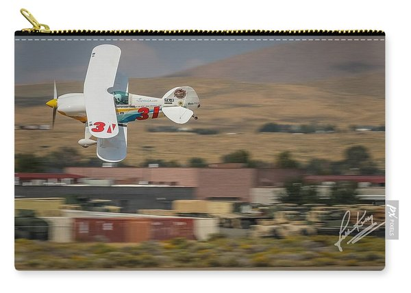 Carry-all Pouch featuring the photograph Tony Higa In Tango Tango 16x9 Aspect Signature Edition by John King