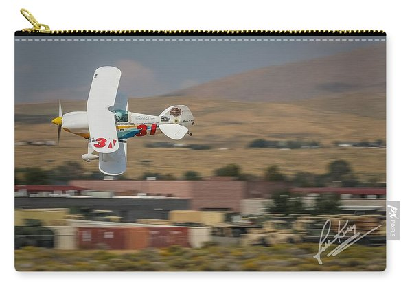 Carry-all Pouch featuring the photograph Tony Higa In Tango Tango 5x7 Aspect Signature Edition by John King