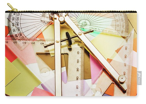Tools Of Architectural Design Carry-all Pouch