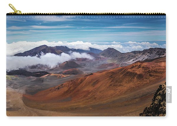 Top Of Haleakala Crater Carry-all Pouch