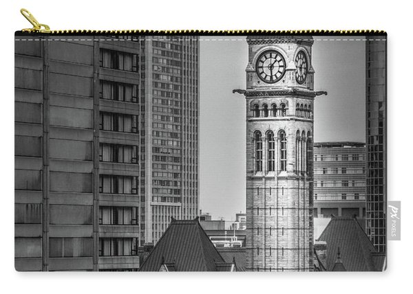 Toronto Courthouse Clock Tower Carry-all Pouch