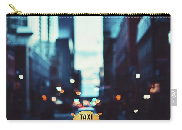 Toronto Taxi Carry-all Pouch