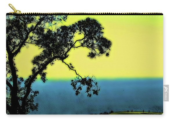 Torrey Pines Golf Course Carry-all Pouch