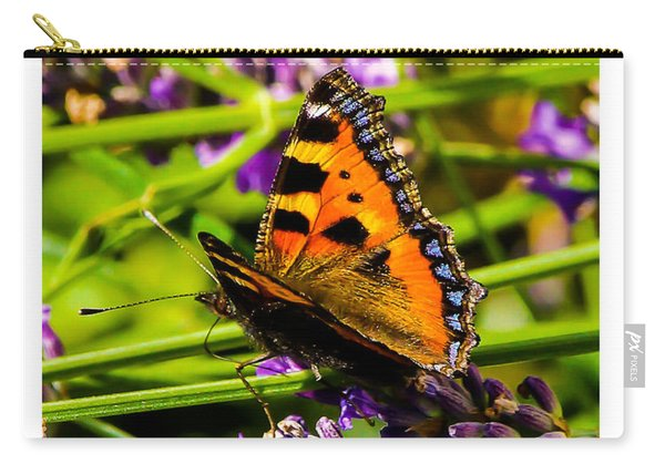 Tortoiseshell Butterfly. Carry-all Pouch