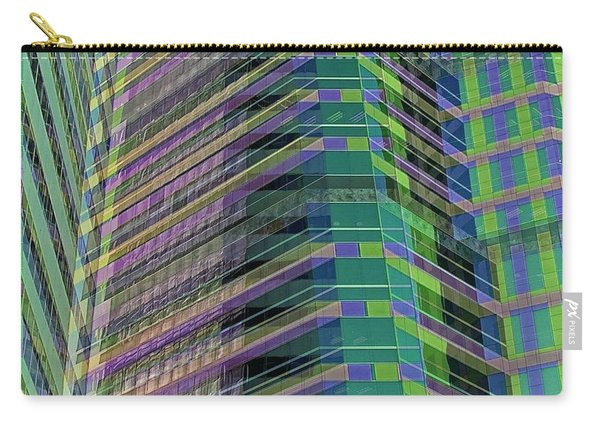 Abstract Angles Carry-all Pouch