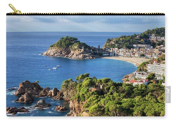 Tossa De Mar Sea Town On Costa Brava In Spain Carry-all Pouch
