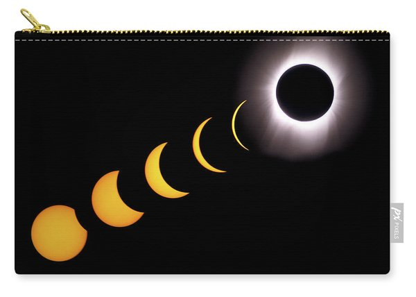 Total Eclipse Sequence, Aruba, 2/28/1998 Carry-all Pouch