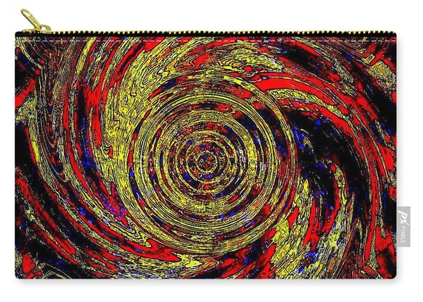 Total Water Swirl Effect  Carry-all Pouch