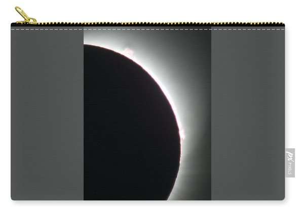 Carry-all Pouch featuring the photograph Totality by John King