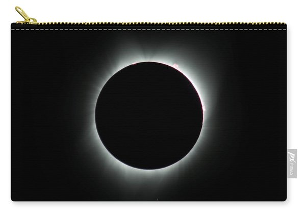 Carry-all Pouch featuring the photograph Totality Signature Edition by John King