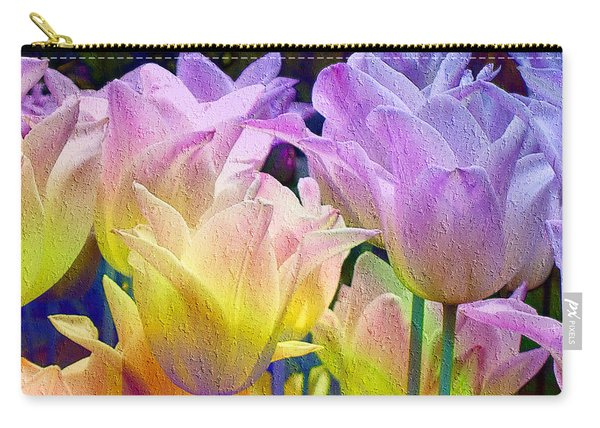 Totally Tulips Two Carry-all Pouch