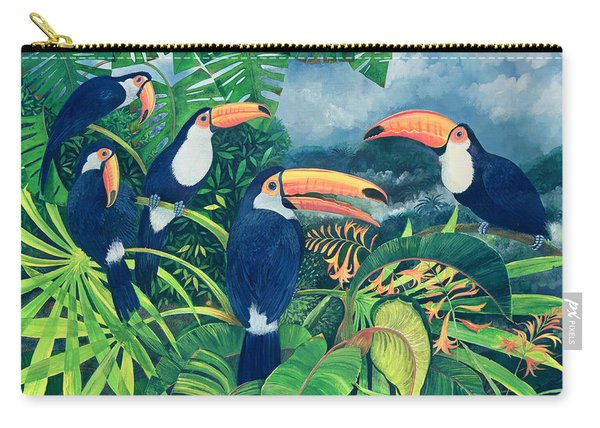Toucan Talk Carry-all Pouch