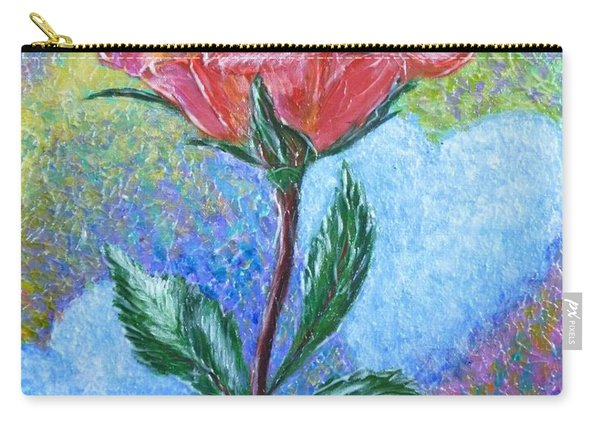 Touched By A Rose Carry-all Pouch