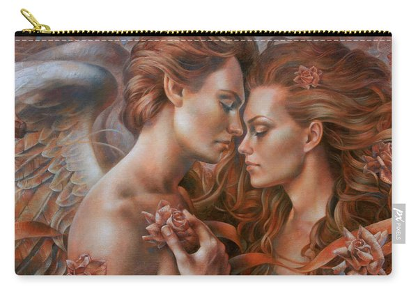 Touched By Angel Carry-all Pouch