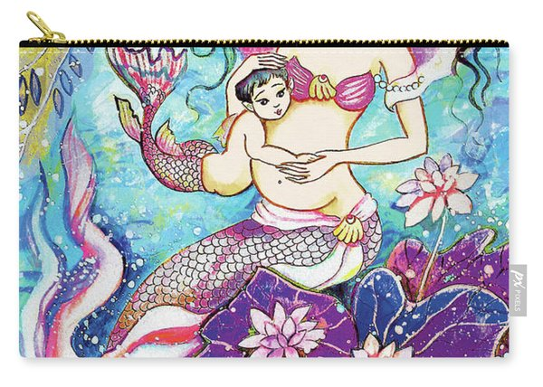 Touching Of Life Carry-all Pouch
