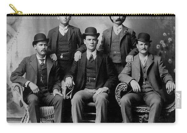 Tough Men Of The Old West 2 Carry-all Pouch