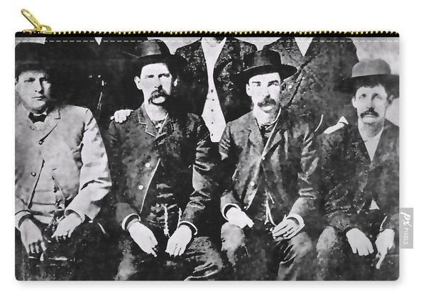 Tough Men Of The Old West Carry-all Pouch