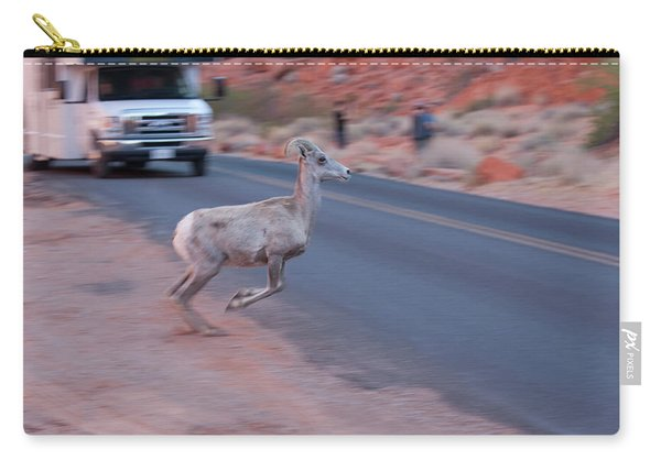 Tourists Intrusion In Nature Carry-all Pouch