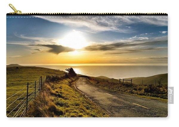 Towards The Sunset Carry-all Pouch