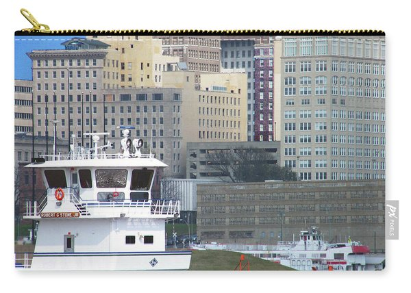 Towboat Robt G Stone At Memphis Tn Carry-all Pouch