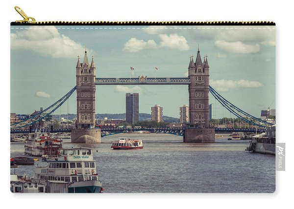 Tower Bridge B Carry-all Pouch
