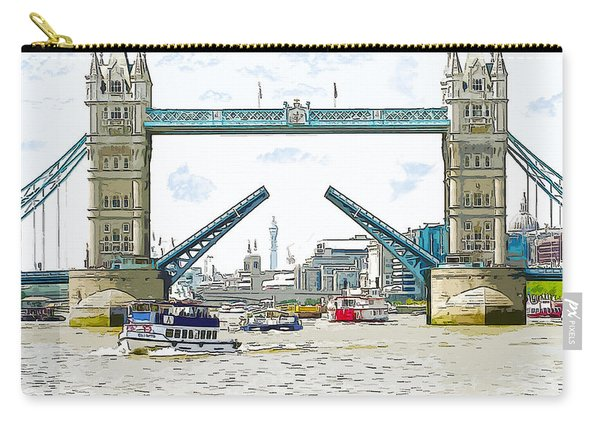 Tower Bridge London England Carry-all Pouch