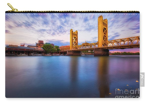 Tower Bridge Sacramento 3 Carry-all Pouch