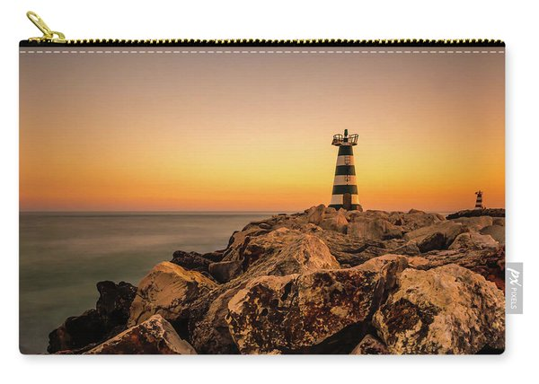 Carry-all Pouch featuring the photograph Tower Of Light by Nick Bywater