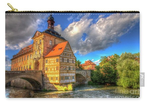 Town Hall Of Bamberg Carry-all Pouch