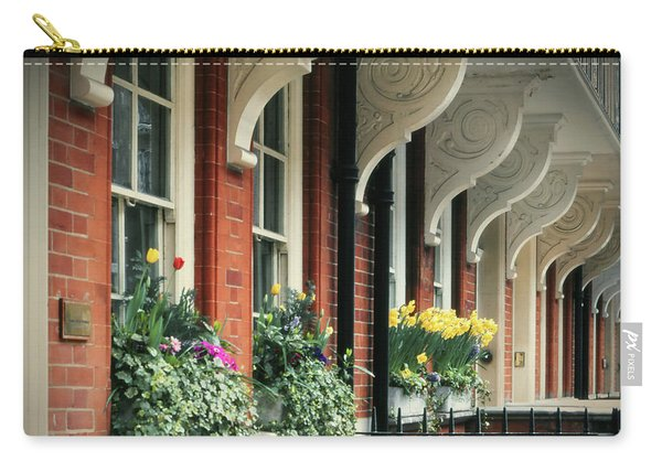 Townhouse Row - London Carry-all Pouch