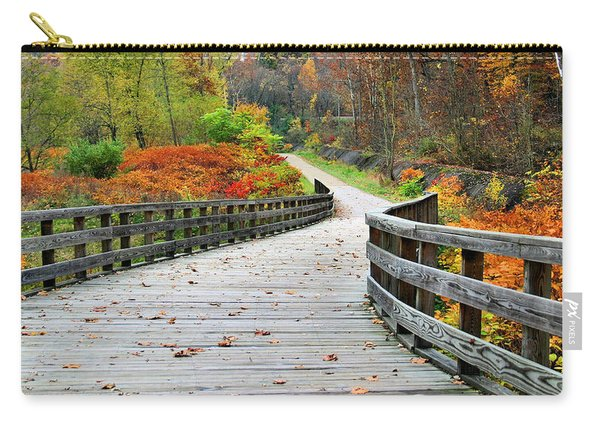 Towpath In Summit County Ohio Carry-all Pouch