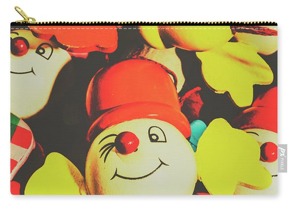 Toys From Old Play Carry-all Pouch