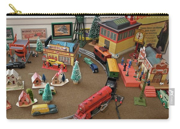 Toytown - Train Set Overview Carry-all Pouch