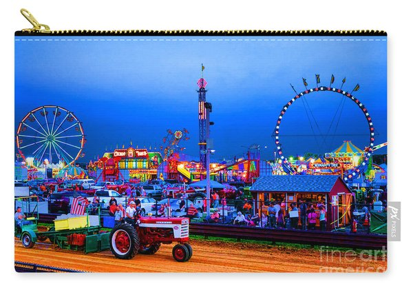 Tractor Pull At The County Fair Carry-all Pouch