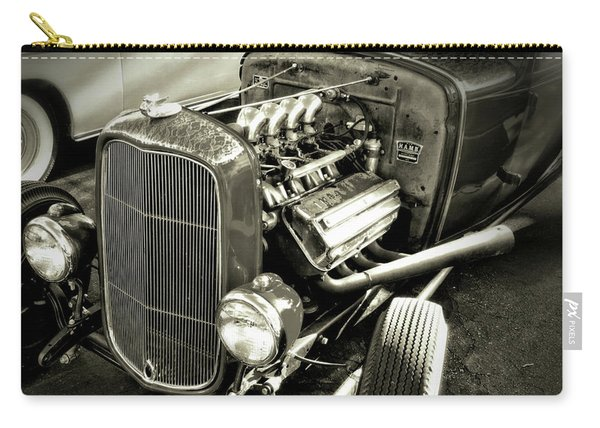 Traditional Hemi Bw Carry-all Pouch
