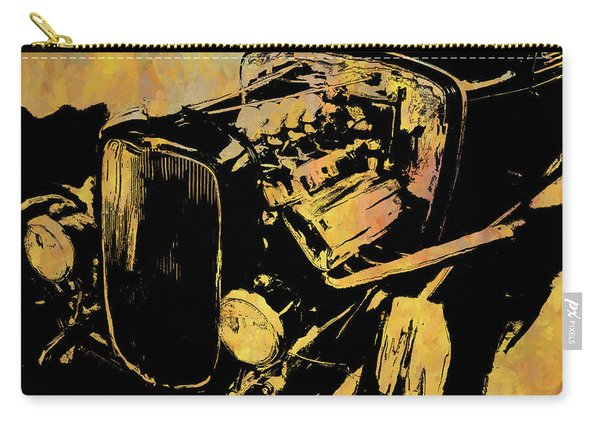 Traditional Hemi Rust Carry-all Pouch