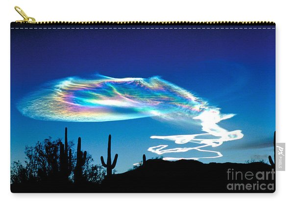 Trail From A Launch In New Mexico Carry-all Pouch