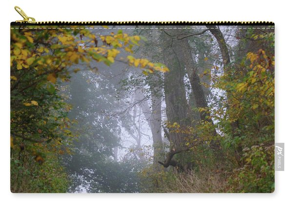 Trail In Morning Mist Carry-all Pouch