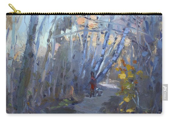 Trail In Silver Creek Valley Carry-all Pouch
